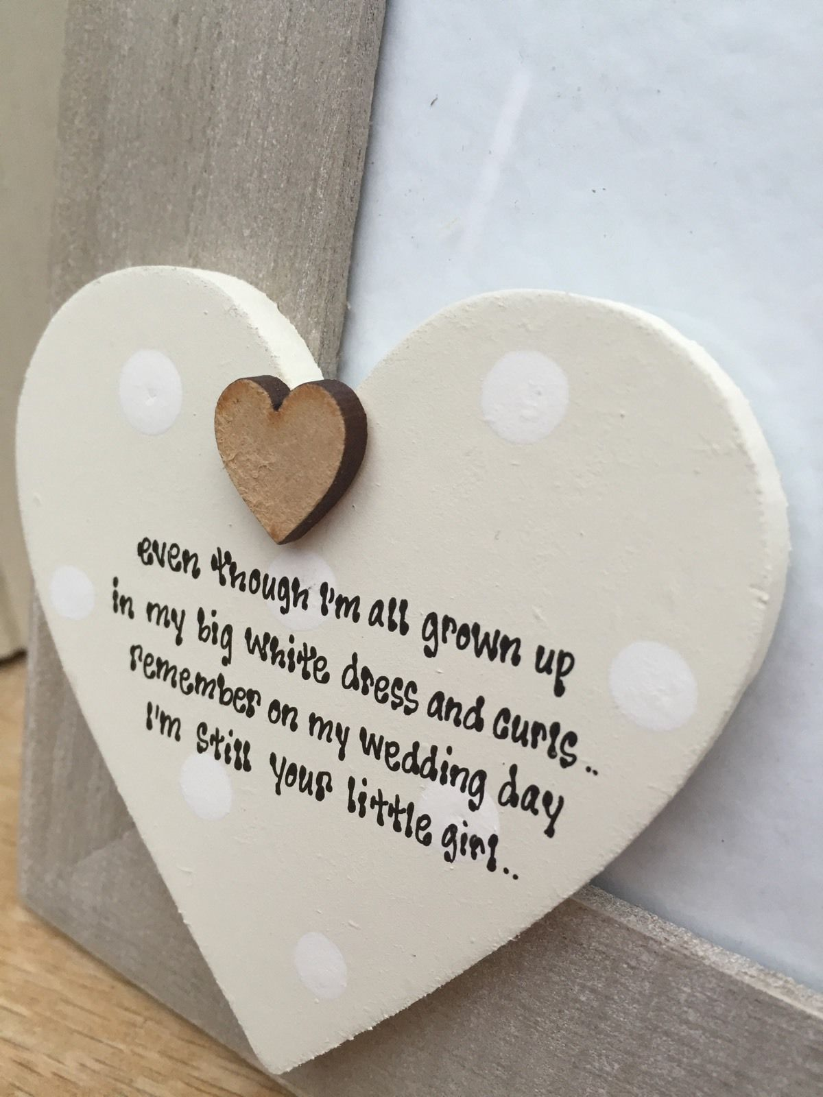 shabby personalised chic photo frame wedding gift mother of the